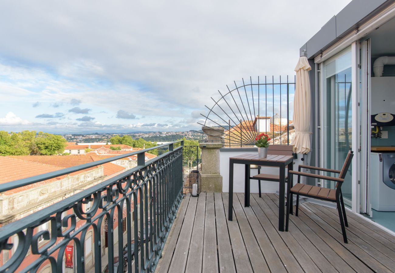 Estúdio em Porto - Estúdio com Terraço no centro do Porto [AF]