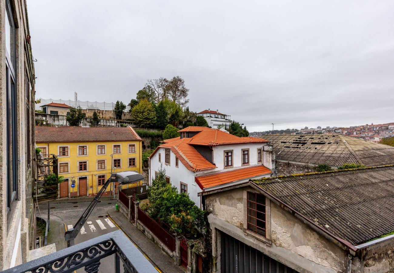 Estudio en Vila Nova de Gaia - Estudio equipado y amueblado, junto al río Duero [W4]
