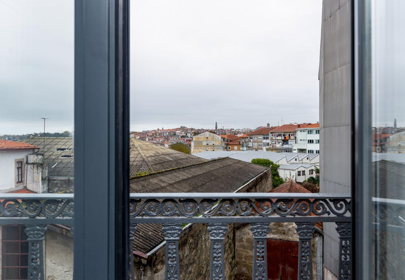 Studio à Vila Nova de Gaia - Studio équipé et meublé, à côté du fleuve Douro [W4]
